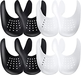 YOLOPARK Shoe Creases Protector, 4 Pairs Shoe Anti Creases Guard to Prevent Sneaker Creases for Men's 7.5-13 Women's 5-9