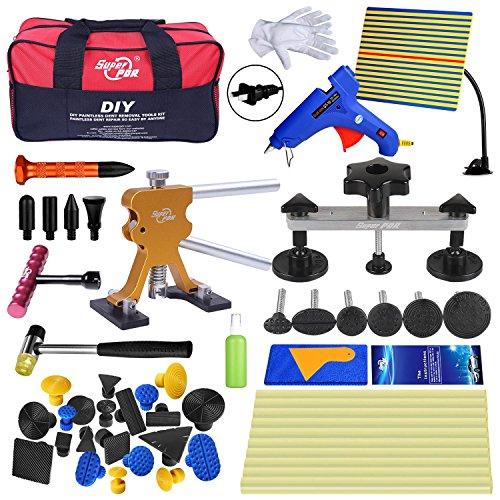 Super PDR Dent Puller Kit,PDR Tools 52Pcs Dent Remover for Car Body Dent Repair Kit Louisiana