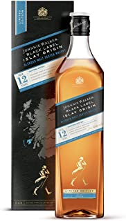 Johnnie Walker BLACK LABEL 12 Years Old ISLAY ORIGIN Limited Edition Whisky 1 x 1 l
