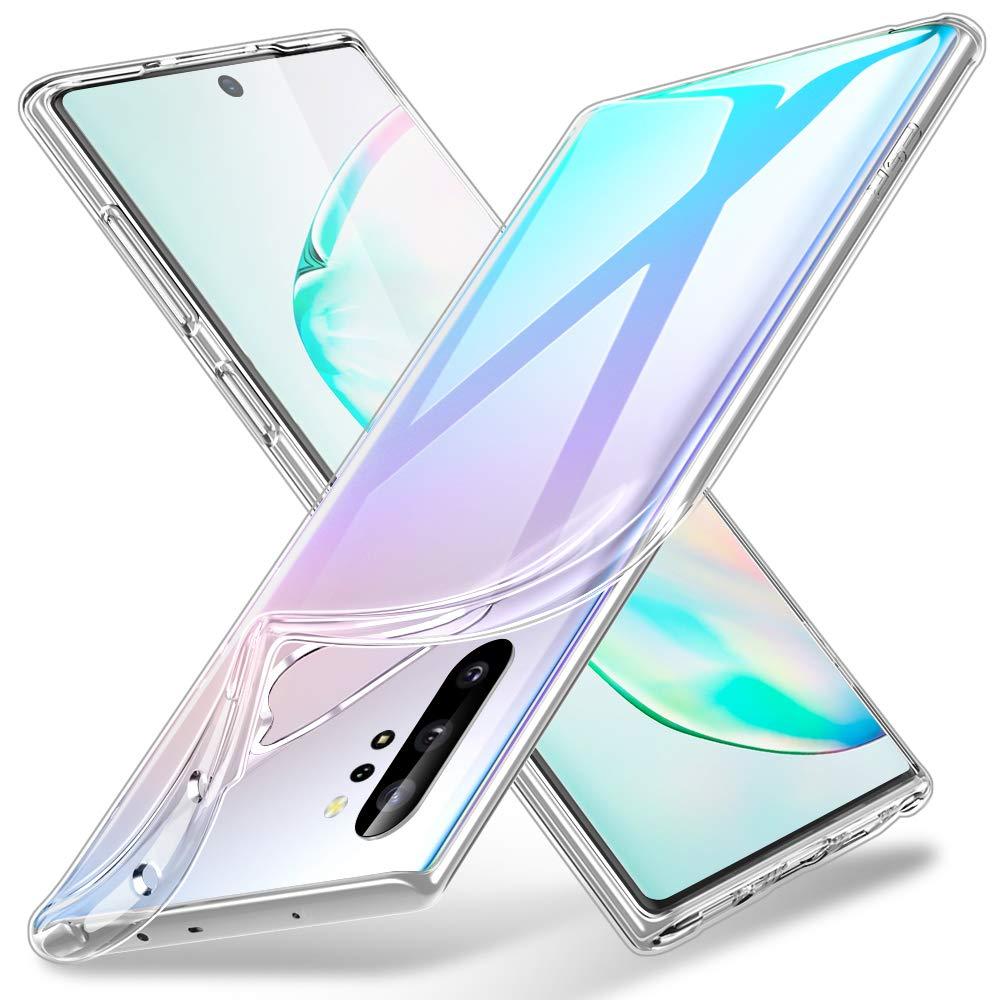 ESR Funda Transparente para Samsung Note 10 Plus/10+/10 Plus 5G, Funda de Suave TPU Transparente, Funda Flexible de Suave Silicona para Samsung Galaxy Note 10 Plus/10+ Transparente: Amazon.es: Electrónica