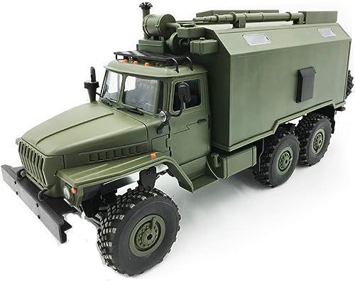 Die perseids 1 16 2,4G 6WD RC Auto Schwere Off-Road Mobile Kommandofahrzeug Military Truck Spielzeug Geschenk für Kinder über 3 Jahre alt,Grün