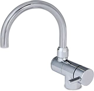 Ambassador Marine Elite Arc Spout Folding Tap, Chrome