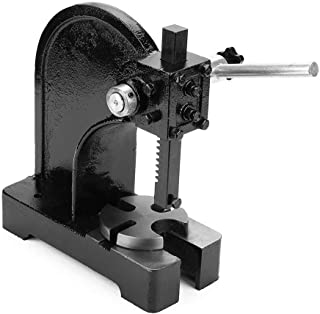 Arbor Press, 1/2 Tons Manual Desktop Metal Arbor Press Tool Hand Punch Press Machine