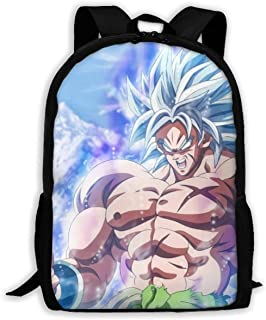 Custom Cool Dragon Ball Casual Backpack School Bag Travel Daypack Gift