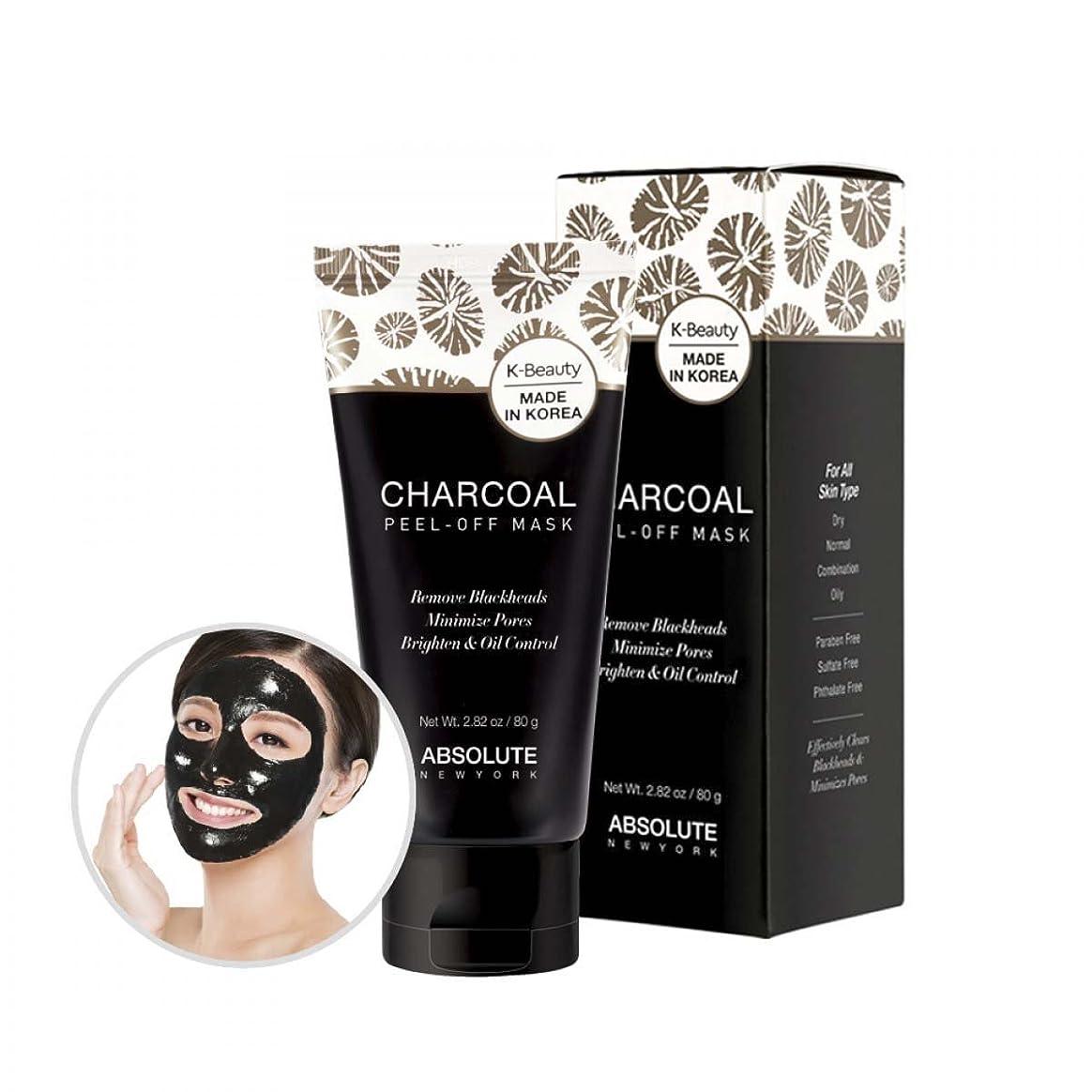 インデックス見込みびっくりABSOLUTE Charcoal Peel-Off Mask (並行輸入品)