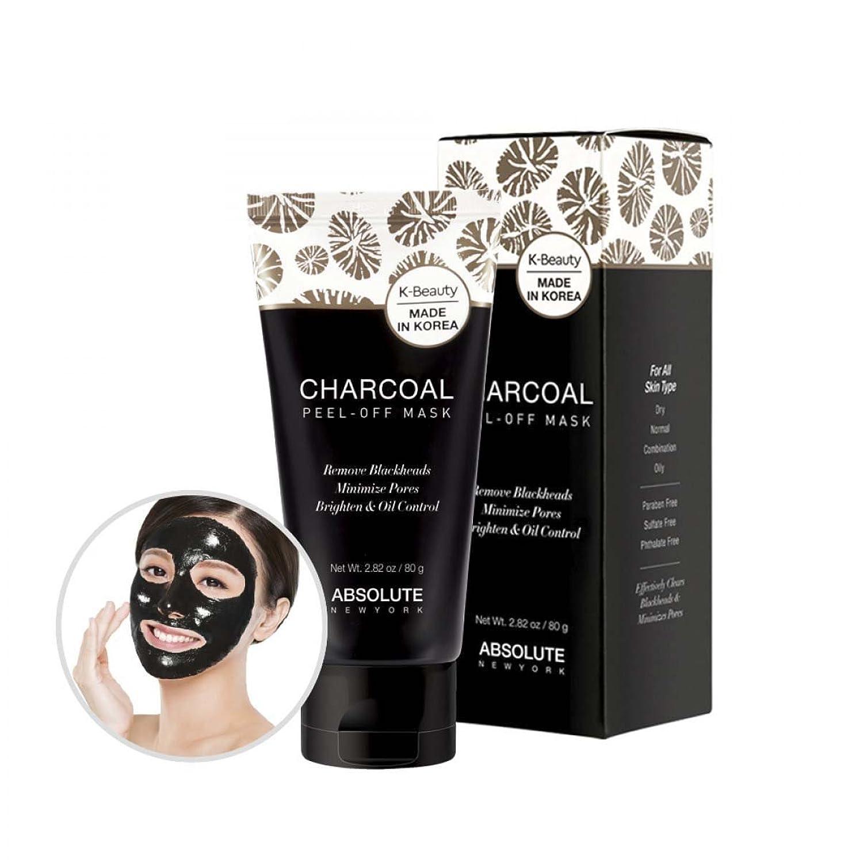 熟読するお世話になった航海のABSOLUTE Charcoal Peel-Off Mask (並行輸入品)