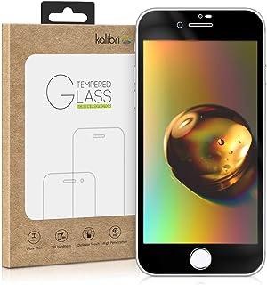 442c26a0e50 kalibri Protector de Pantalla para Apple iPhone 7/8 - Cristal Templado [3D  Curvo