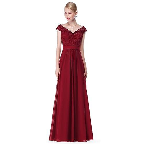 c21d0a50c5 Ever Pretty Women s Elegant V-Neck Long Party Dress 08633