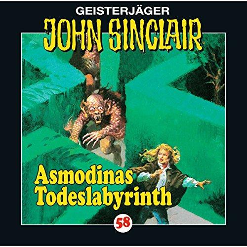 Asmodinas Todeslabyrinth audiobook cover art