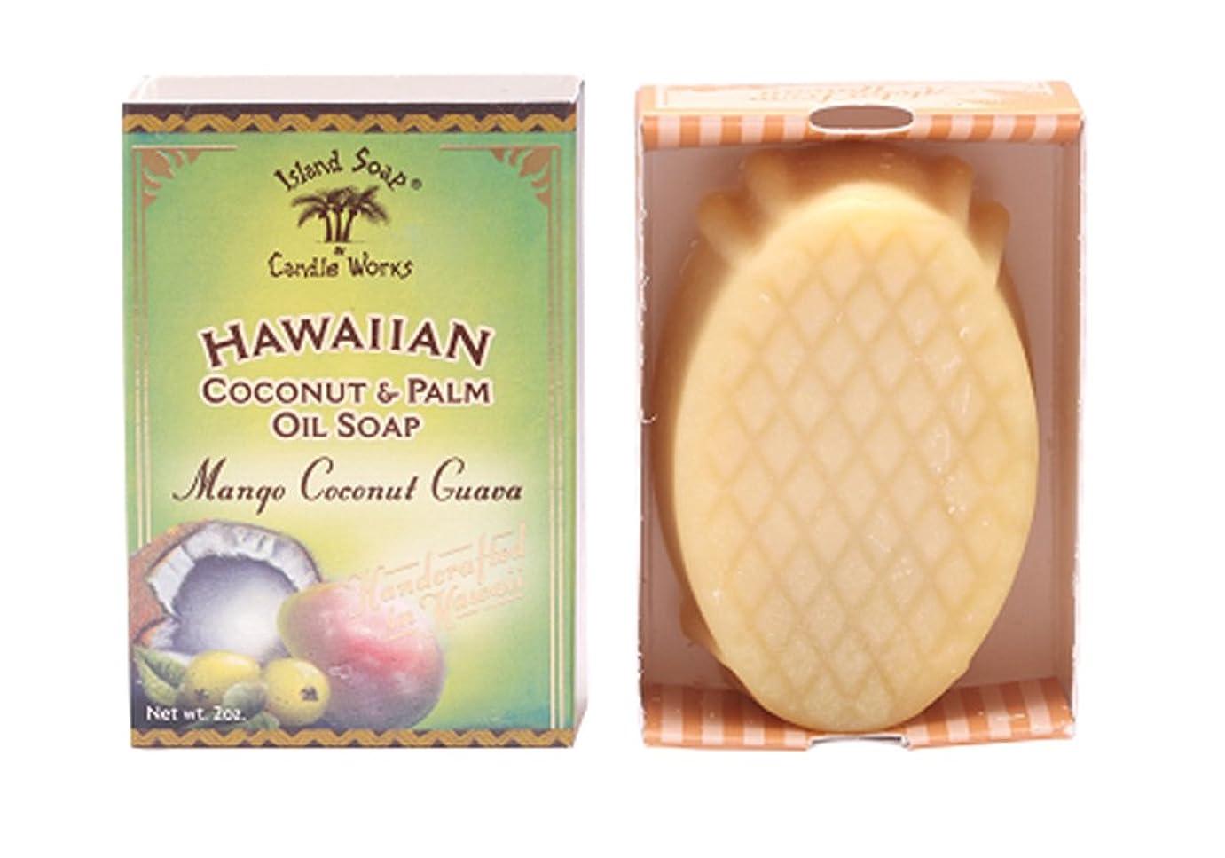 バースト扇動する勘違いするアイランドソープ ココナッツソープ マンゴココナッツ 50g