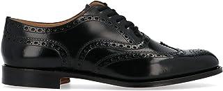 Luxury Fashion | Church's Men EEB2649XVF0AAB Black Leather Lace-up Shoes | Season Permanent