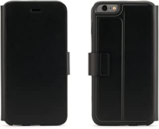 Griffin Identity Wallet for iPhone 6 Plus, Black - Keep Your Cards, Cash and Phone Together, Plus Additional Clear Back