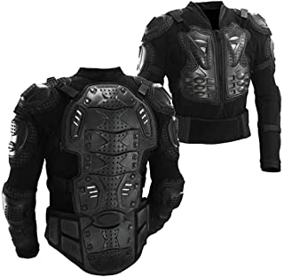 Motorcycle Full Body Armor Protective Gear Jacket Shirt...