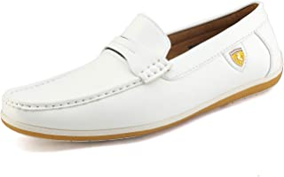 e0112f364cb Bruno Marc Men's Bush Driving Loafers Moccasins Shoes