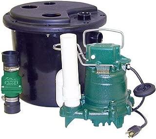 Zoeller 105-0001 Sump Pump, 12.50 x 14.50 x 14.50 inches, 19 Pound (Renewed)