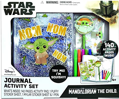 STAR WARS Mandalorian The Child Journal Activity Set