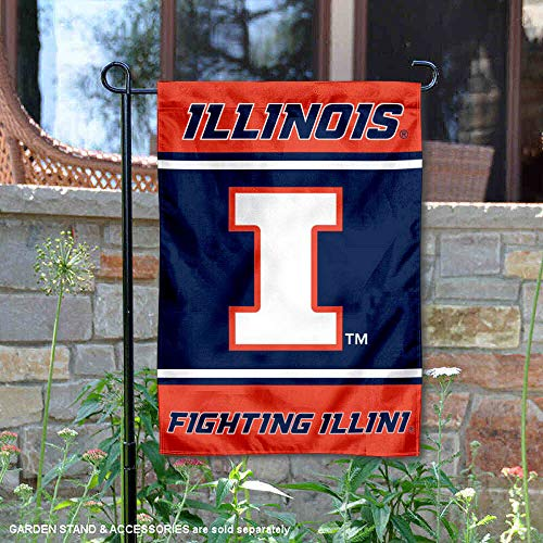 College Flags & Banners Co. Illinois Fighting Illini Garden Flag