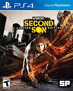 Infamous: Second Son - Limited Edition - PlayStation 4 (B00GWHDUK2) | Amazon price tracker / tracking, Amazon price history charts, Amazon price watches, Amazon price drop alerts