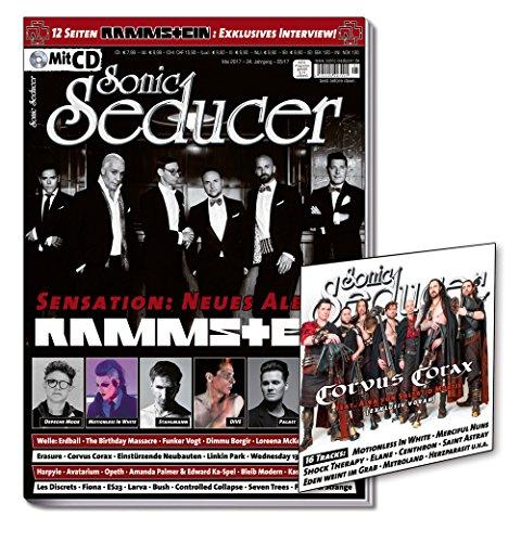 Sonic Seducer 05-2017 mit 12 Seiten Rammstein Titelstory und exkl. Interview zur Sensation: Neues Rammstein Album + CD, Bands: Depeche Mode, Welle: Erdball, Blutengel, Linkin Park u.v.m.
