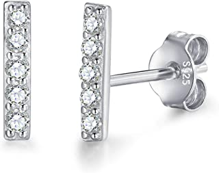 8c903e6cba8c7 Amazon.com: silver bar - Earrings / Jewelry: Clothing, Shoes & Jewelry