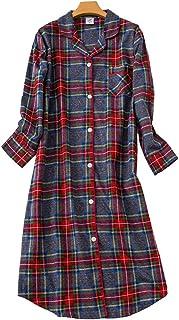 Woman Nightdress,TieNew2019 Womens Long Sleeve Cotton Pyjamas Nightdress Love Pattern Winter Ladies Nightdress
