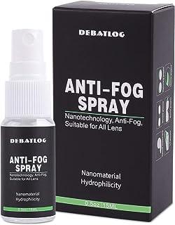 DEBATLOG Anti-Fog Spray for Glasses   Professional   Work on Eyeglass,Mask, Sports Goggles, Swim Goggles, Bathroom Mirror,...