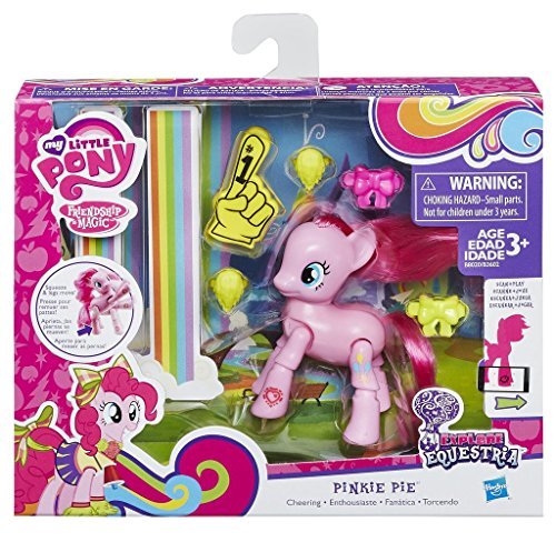 My Little Pony - B8020 - Articulé Action Deluxe - Pinkie Pie