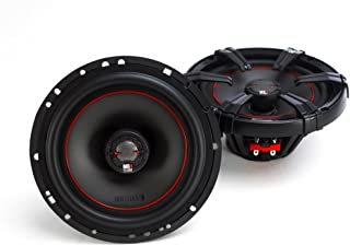 2) MB Quart X-Line 80 Watt 6.5 Inch Coaxial Car Audio Speakers Pair | XK1-116