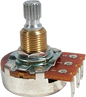 Bourns Guitar & Amp Potentiometer, 500K Audio, Knurled Split Shaft