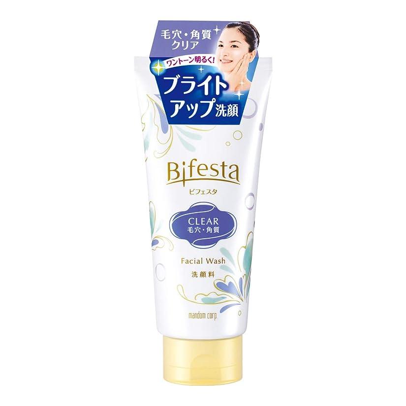 サイレンサーキットに行く厚いビフェスタ(Bifesta)洗顔 クリア 120g 毛穴?角質クリアタイプの洗顔料
