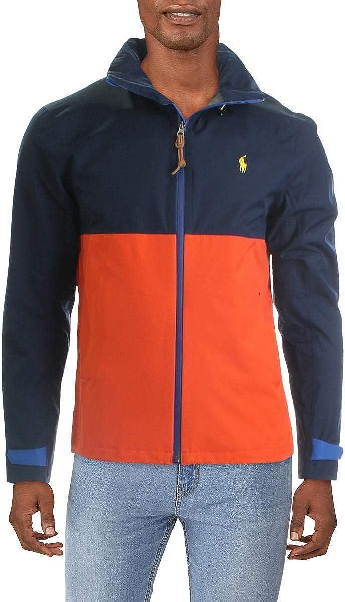 Polo Ralph Lauren Mens Lightweight Water Repellant Utility Jacket
