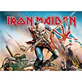 Cyberteez Iron Maiden Trooper Tapestry Cloth Poster Flag Wall Banner 30' x 40' Black