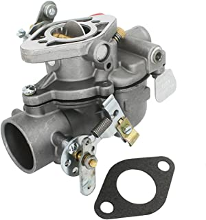 KIPA Carburetor for Case IH Farmall Cub Tractor 154 184 185 70949C92 71523C93 70949C91 Lo-Boy Zenith Style Replace carb Mfg number 13781 13794 with Mounting Gasket