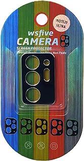Wsfive Camera Lens Protector For Samsung Galaxy Note 20 Ultra - Black