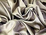 Stretch Baumwolle Pique Kleid Stoff camel–Meterware
