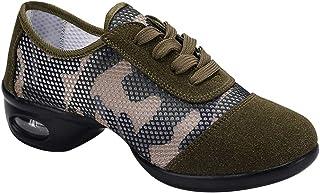 990fbe3c76e Gtagain Ata para Arriba Jazz Zapatos de Baile - Zapatillas de Deporte  Ligeras y Transpirables Cojín