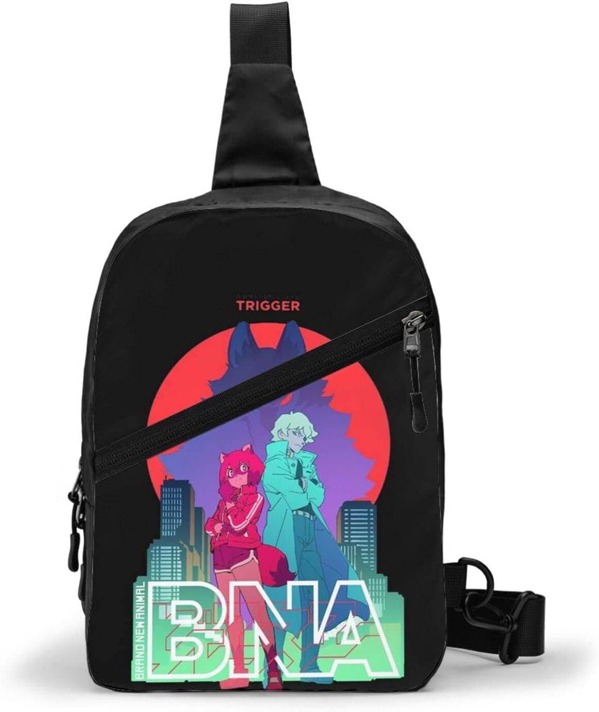 Trioepu Bna Max 89% OFF Anime Shoulder Bag Daypac Men Women 5 popular Hiking Crossbody