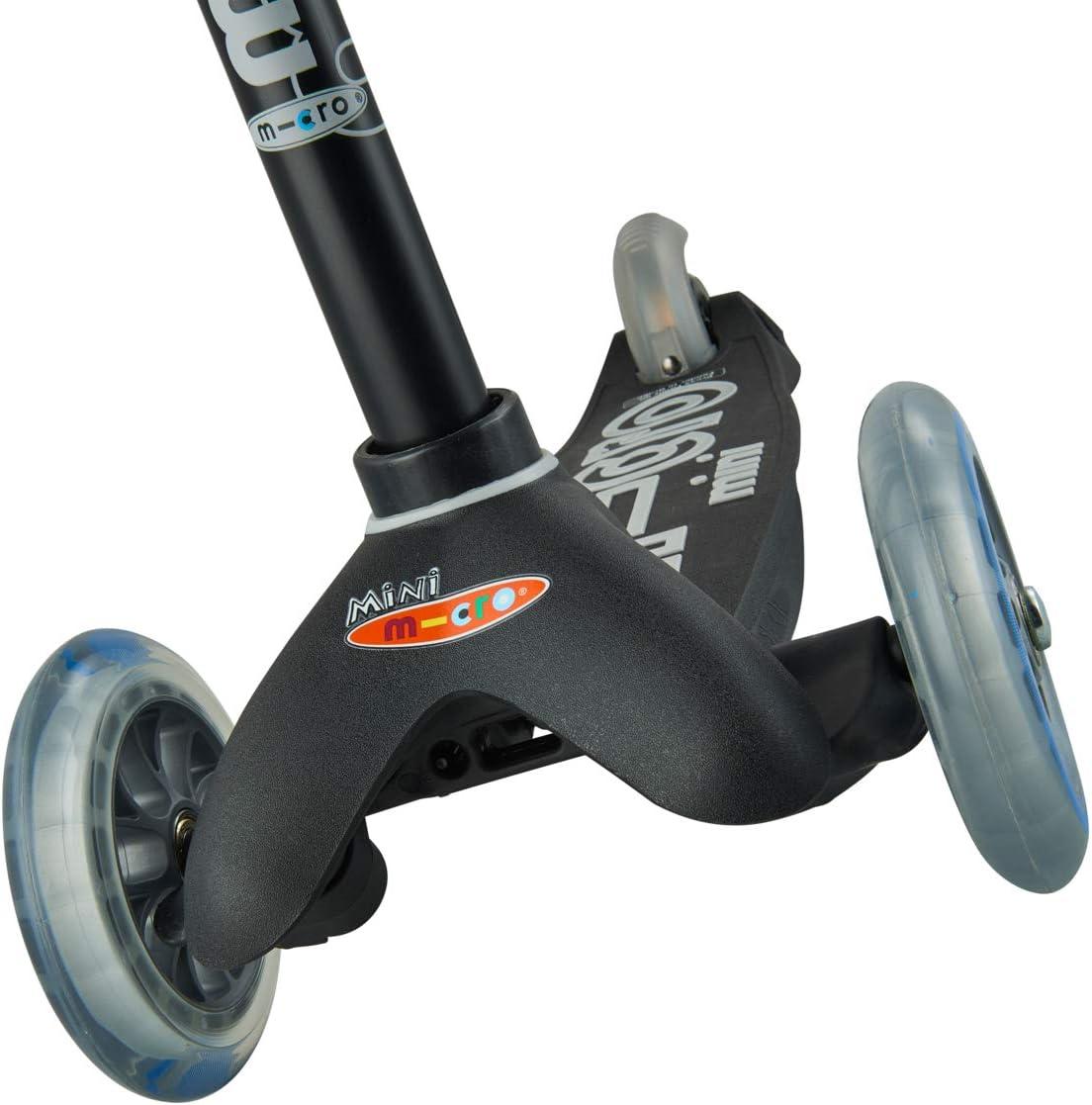 Micro Mini Deluxe skateboard, uniseks zwart