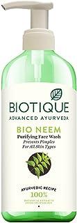 Biotique Bio Neem Purifying Face Wash, 300ml