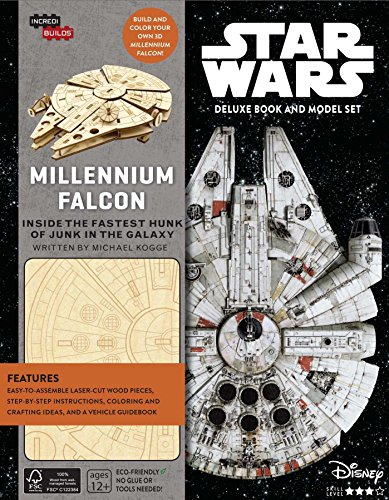 Download IncrediBuilds: Star Wars: Millennium Falcon Deluxe Book and Model Set 1682980103