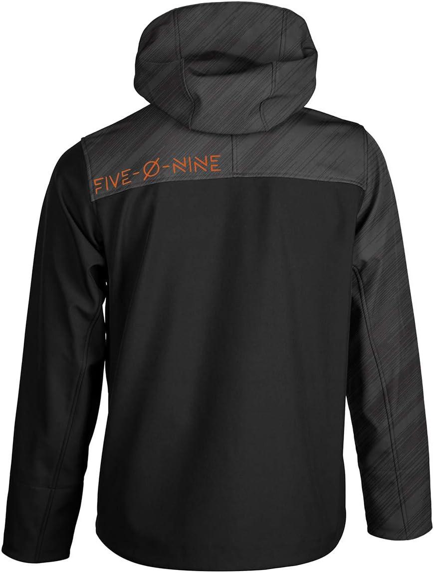 509 Tactical Softshell Jacket (Black Ops Orange - 2X-Large)