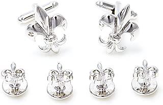 Jewel Tie 925 Sterling Silver Kentucky Derby Cuff Link