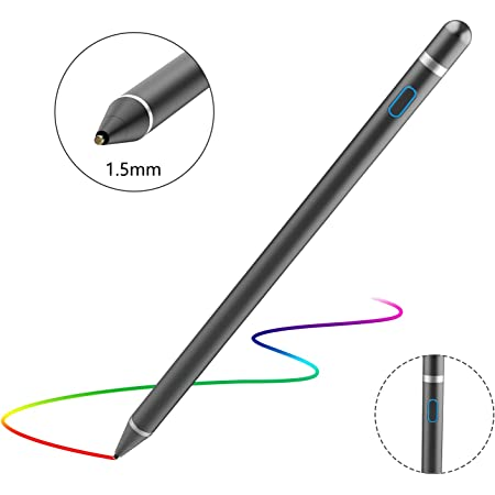 Broonel Grey Fine Point Digital Active Stylus Pen Compatible with The ASUS TUF Gaming FX505DY17.3 Inch