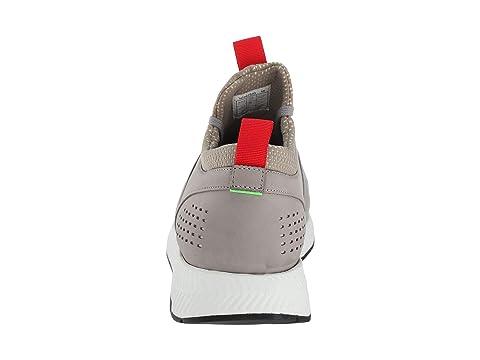 Hugo Chaussure Titane En De Boss Greypastel Cours Vert Par Moyen Rose D'exécution 6a1wxq
