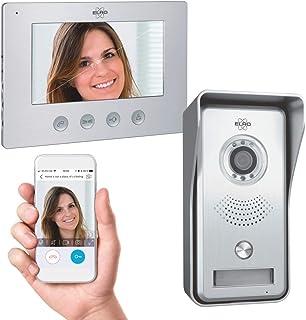 ELRO DV447WIP IP Video Deur Intercom - met 7 inch kleurenscherm - Color Night Vision - Bekijken en communiceren via App, 1...