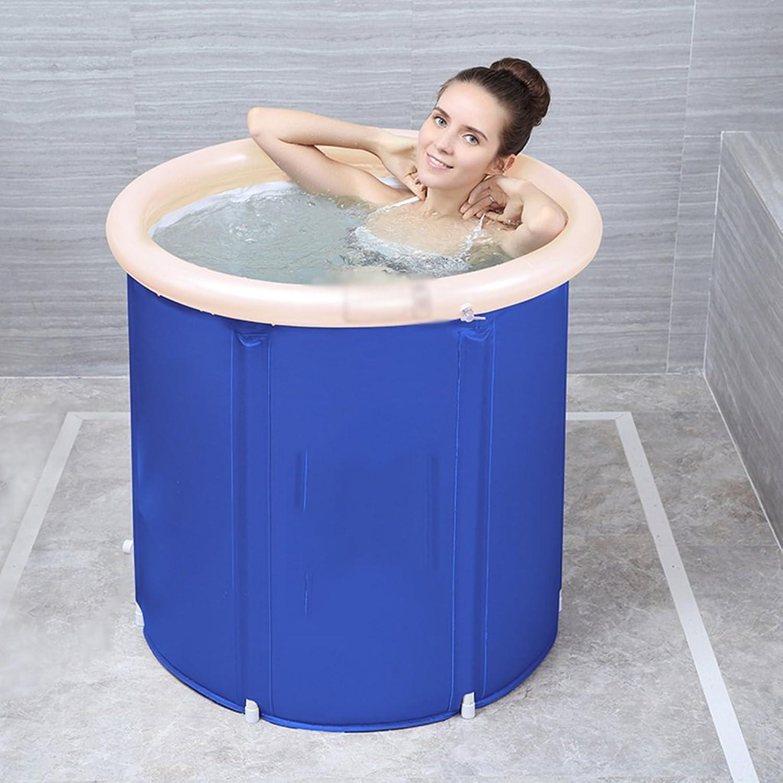 Bath bucket bath barrel adult bath barrel folding inflatable bathtub home thickening bath barrel