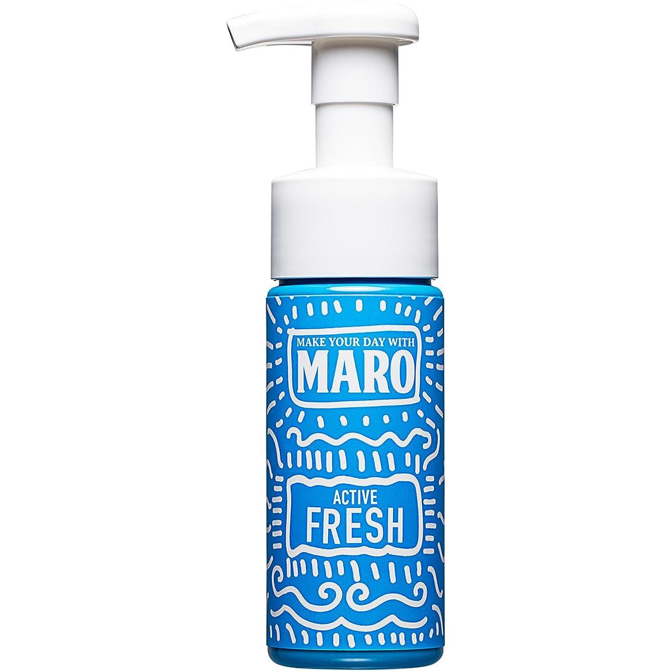 深さ酸度垂直MARO グルーヴィー 泡洗顔 アクティブフレッシュ 150ml