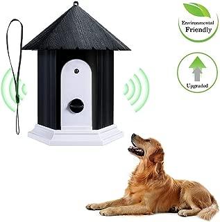 MANMEI Anti Barking Device, Super Ultrasonic Anti Dog Bark Controller, Hidden Control Device, Waterproof Outdoor Anti Bark Control System in Birdhouse Shape