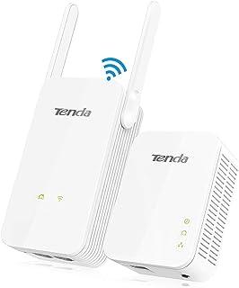 Tenda pH5Kit AV1000Adattatore Powerline Gigabit con Wi-Fi Through Bianco