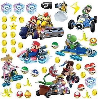 RoomMates Ninetendo Mario Kart 8 Peel And Stick Wall Decals , 10